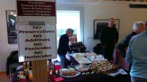 Blog Photo - Farmers Market Sign and Vendors