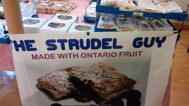 Blog Photo - Farmers Market The Strudel Guy