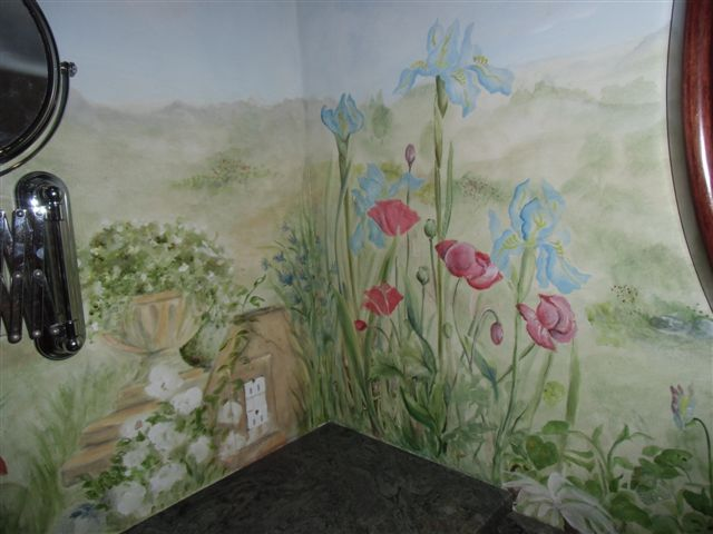 Blog Photo - Stiver House Mural Poppies and Iris