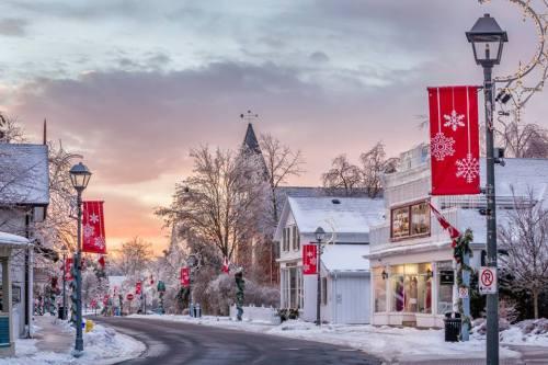 Blog Photo - Unionville Main Stree at Christmas -  Lorne Chapman Photo