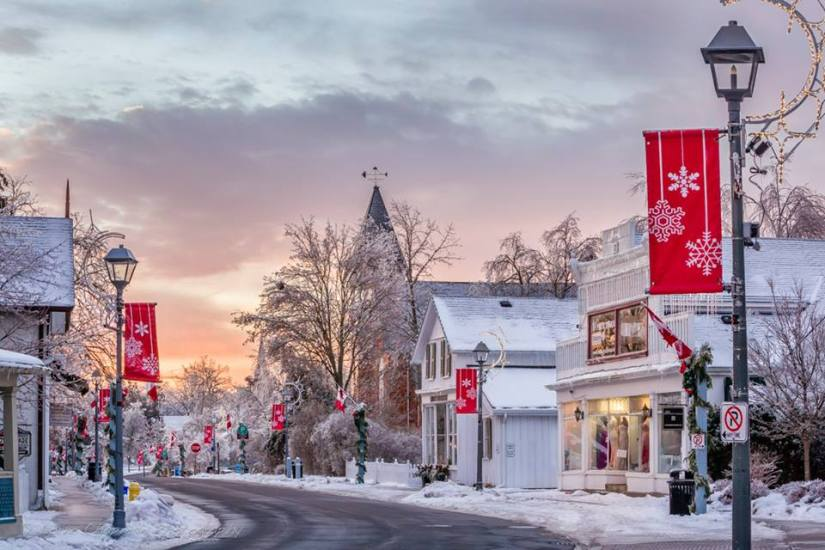 Blog Photo - Unionville Main Stree at Christmas -  Lorne Chapman Photo