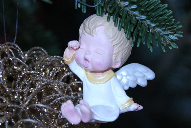 Blog Photo - christmas ornament sleepy angel