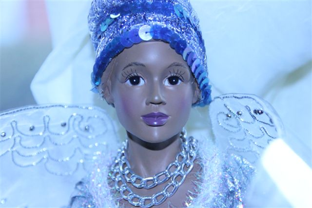 Blog Photo - Christmas ornaments Angel face