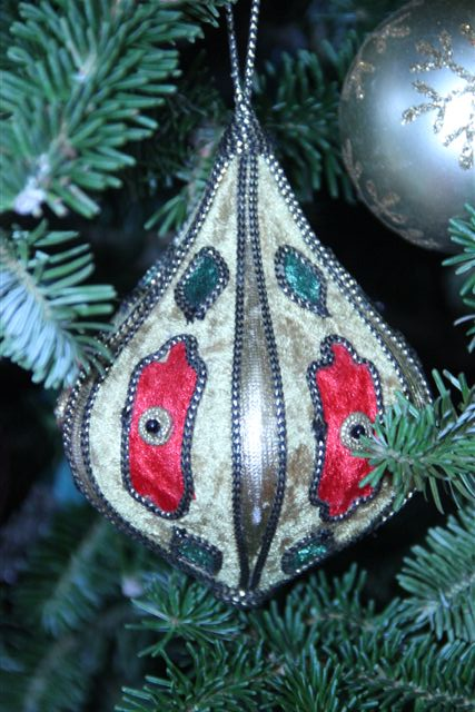 Blog Photo - Christmas ornaments Cloth Covered Beauty