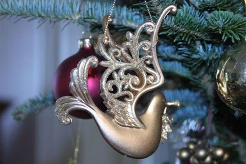Blog Photo - Christmas Ornaments Golden Dove