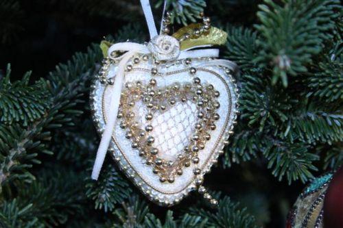 Blog Photo - Christmas ornaments Heart