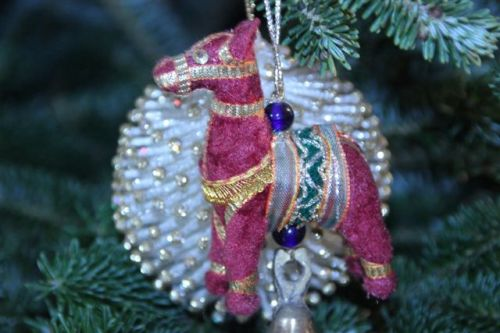 Blog Photo - Christmas Ornaments Jewelled Pony
