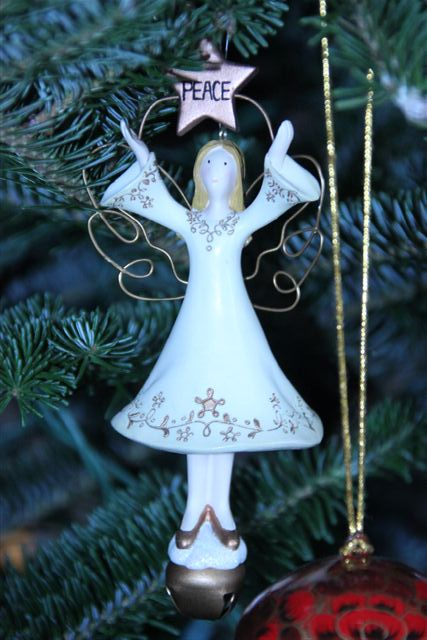 Blog Photo - Christmas ornaments Peace Angel