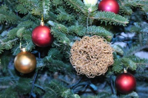 Blog Photo - Christmas Ornaments Red and Gold Balls on Tree