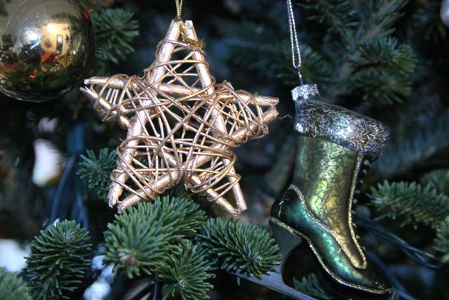 Blog Photo - Christmas Ornaments Star and Boot
