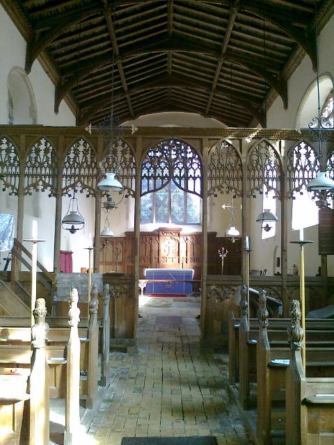 Blog Photo - Clare Pooley Blog 4 -church interior