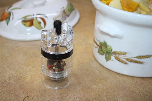 Blog Photo - Recipe - Black pepper mill