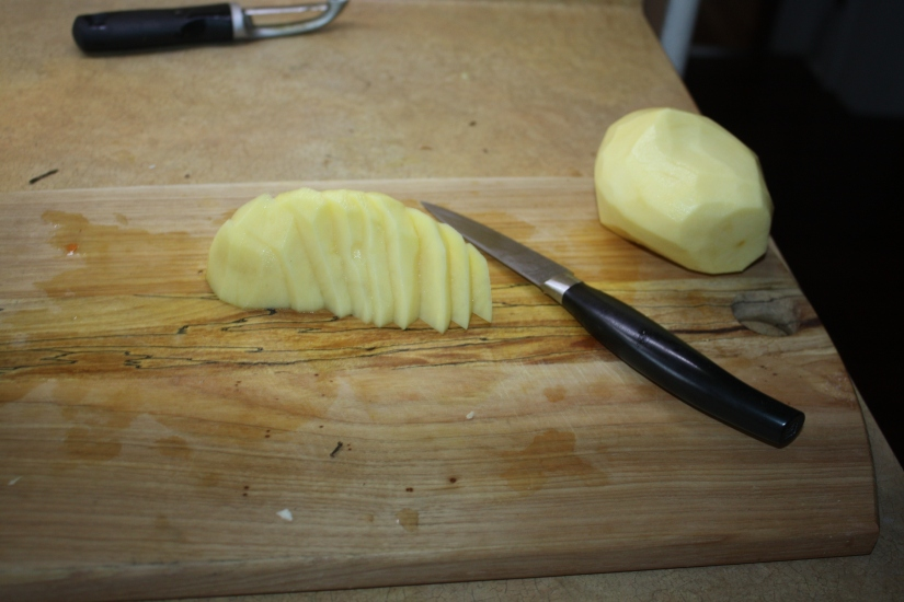 Blog Photo - Recipe - sliced Potato