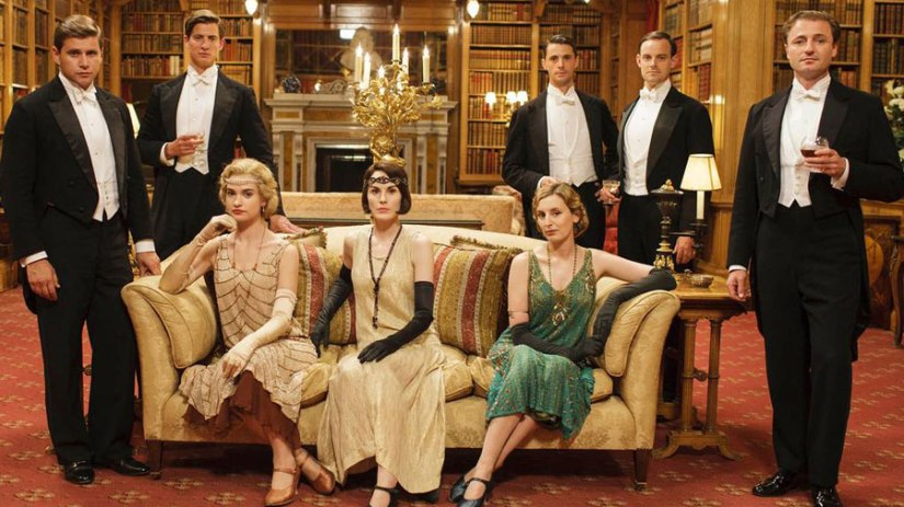 Blog Photo - Downton abbey at christmas