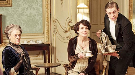 Blog Photo - Downton Abbey ladies at tea