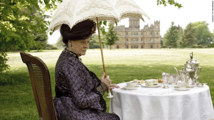 Blog Photo - Downton Abbey Maggie Smith
