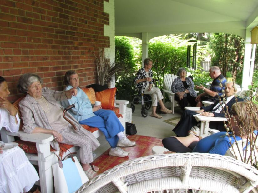 Blog Photo - Afternoon Tea Group on Verandah1