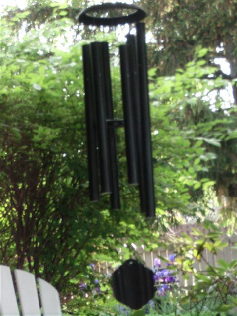 Blog Photo - garden wind chimes