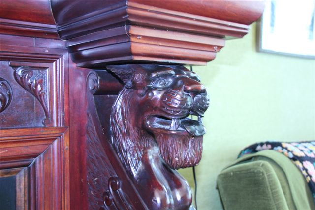 Blog Photo - House Ravenscraig Feature 2 Fireplace carving