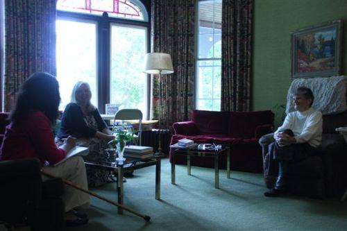 Blog Photo - House Ravenscraig Mrs Strike laughs with Kim and Cynthia