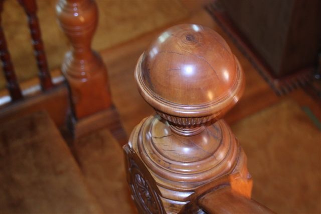 Blog Photo - House Ravenscraig Newel Post
