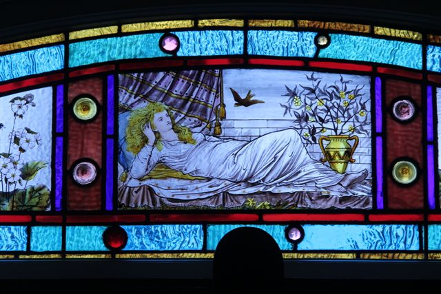 Blog Photo - House Ravenscraig Stained Glass Lady 2