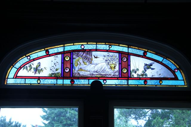 Blog Photo - House Ravenscraig Stained Glass lady