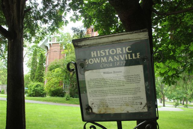 Blog Photo - House Trees and Historic sign