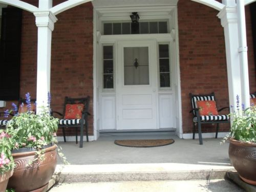 Blog Photo - Potted plants and front door