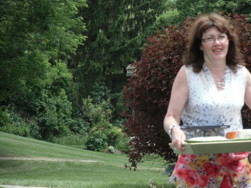 Blog Photo - Book Club Linda with tray