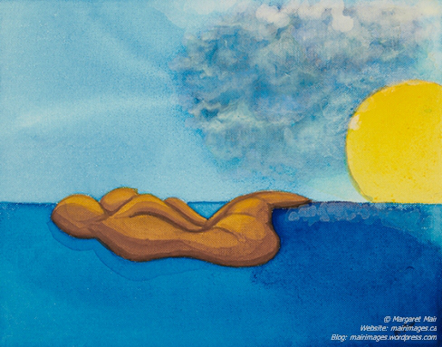 Margaret Mair's painting - We are Islands
