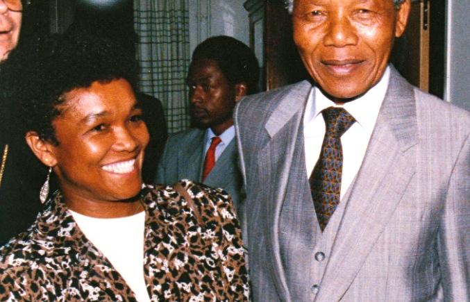 Sylvia and Madiba