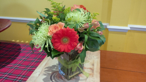 Blog Photo - Flowers from Daughter