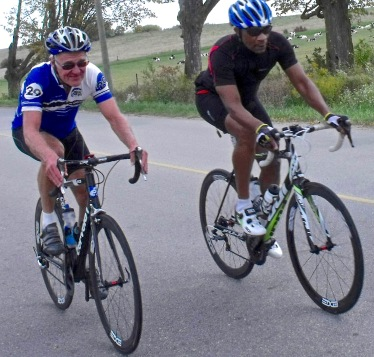 Blog Photo - Cyclists B and H