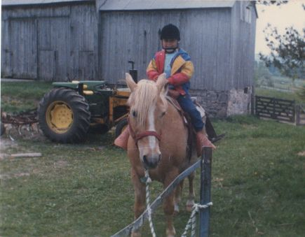 Blog Photo - Doors Open Nick early photo of child on horse