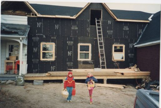 Blog Photo - Doors Open Nick Early Photo of Kids in Front of House