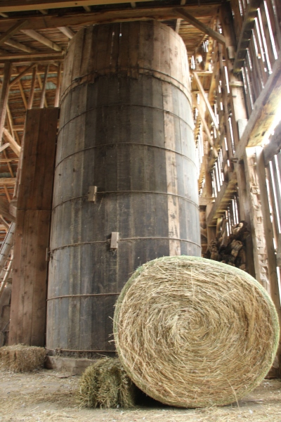 Blog Photo - Doors Open The Grange Barn Inside and Hay Hamlin