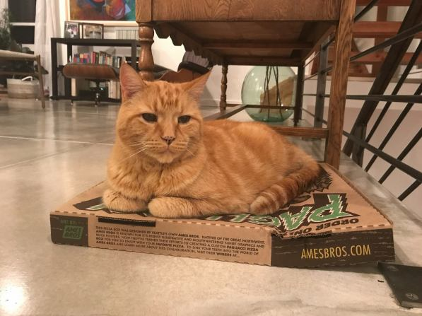 Blog Photo - Jerome on Pizza Box