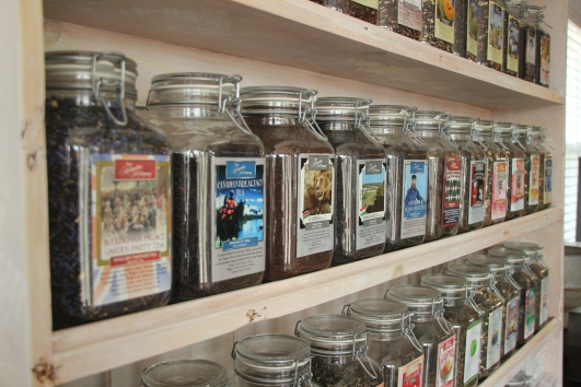 Blog Photo - SOS Tea containers on shelves.JPG