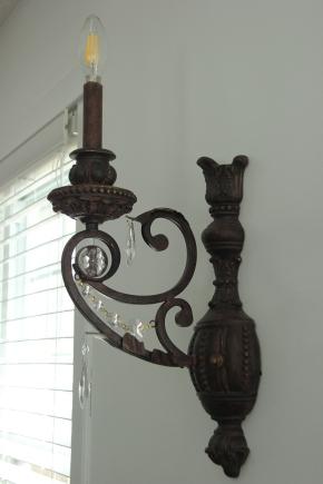 Blog Photo - SOS wall lamp