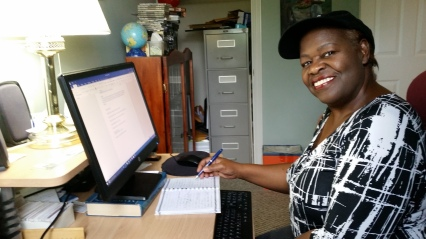 Blog Photo - Yvonne at Desk