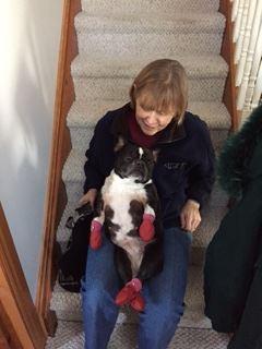 Blog Photo - Susan Statham and Pet