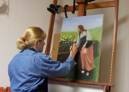 Blog Photo - Susan Statham in Studio