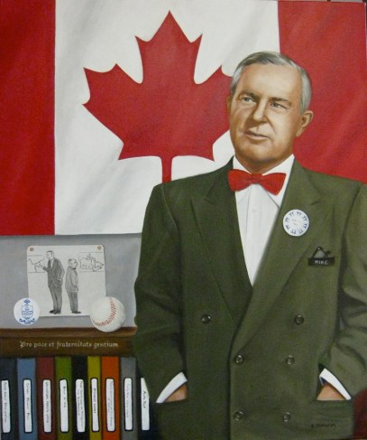 Blog Photo - Susan Statham Portrait of Lester Pearson