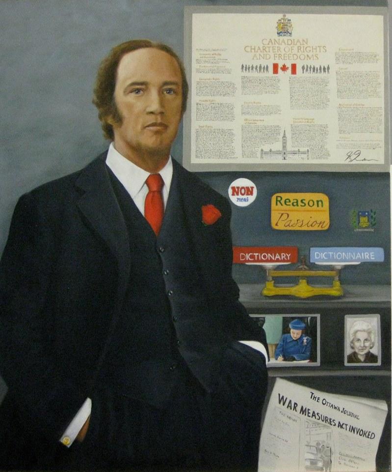 Blog Photo - Susan Statham Portrait of Trudeau