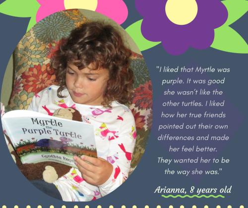 Blog Photo - Arianna reading Myrtle 2
