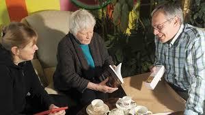 Blog Photo - Felicity and Authors - photo credit Northumberland News