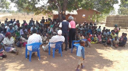 Blog Photo - Kamala-Jean Happy Chiefs and Children outside school