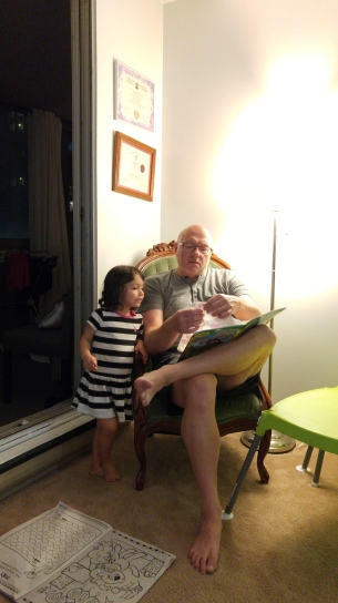 Blog Photo - Paul Mason and Granddaughter