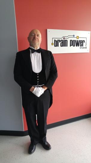 Blog Photo - Paul Mason in character as a butler
